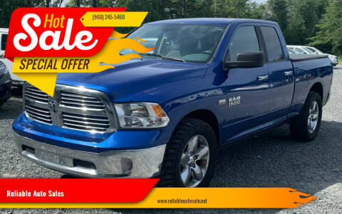 2016 RAM Ram Pickup 1500 for sale at Reliable Auto Sales in Roselle NJ