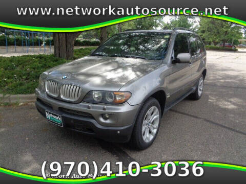 2006 BMW X5 for sale at Network Auto Source in Loveland CO