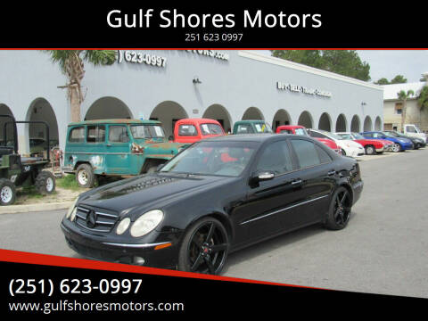 2006 Mercedes-Benz E-Class for sale at Gulf Shores Motors in Gulf Shores AL