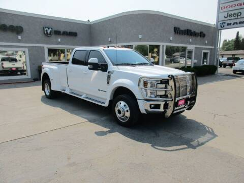 2019 Ford F-450 Super Duty for sale at West Motor Company in Hyde Park UT