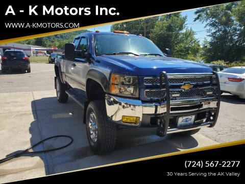 2013 Chevrolet Silverado 1500 for sale at A - K Motors Inc. in Vandergrift PA