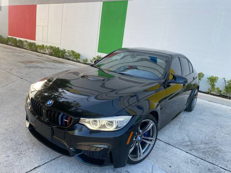 2015 BMW M3 for sale at Auto Beast in Fort Lauderdale FL