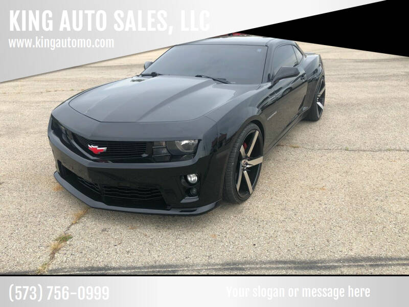 2010 Chevrolet Camaro for sale at KING AUTO SALES, LLC in Farmington MO