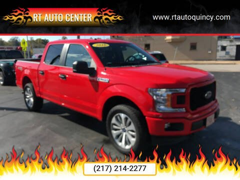 2018 Ford F-150 for sale at RT Auto Center in Quincy IL