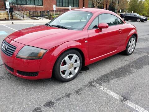 2001 Audi TT for sale at Auto Wholesalers Of Rockville in Rockville MD