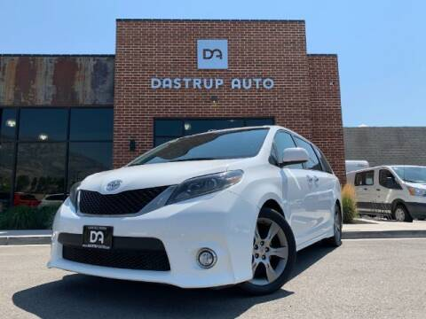 2015 Toyota Sienna for sale at Dastrup Auto in Lindon UT