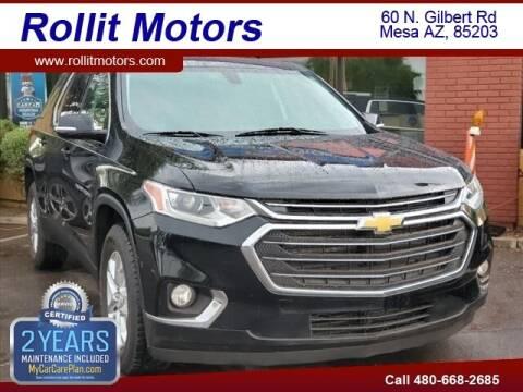 2018 Chevrolet Traverse for sale at Rollit Motors in Mesa AZ