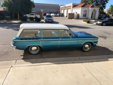 1961 Chevrolet Corvair 700 for sale at HIGH-LINE MOTOR SPORTS in Brea CA