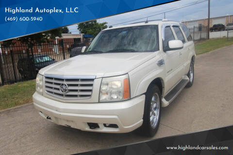 2005 Cadillac Escalade for sale at Highland Autoplex, LLC in Dallas TX
