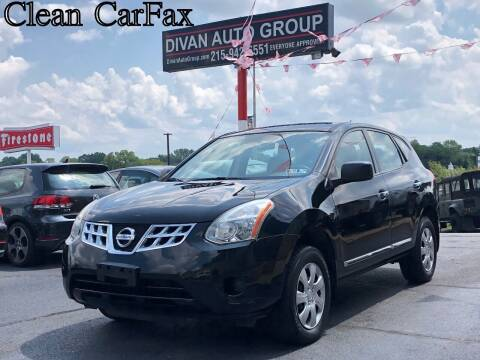 2012 Nissan Rogue for sale at Divan Auto Group in Feasterville PA