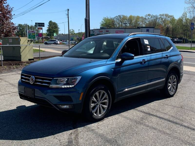 2018 Volkswagen Tiguan for sale at Ludlow Auto Sales in Ludlow MA