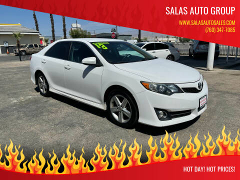 2013 Toyota Camry for sale at Salas Auto Group in Indio CA
