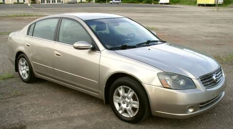 2005 Nissan Altima for sale at Angelo's Auto Sales in Lowellville OH