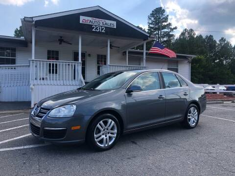 2007 Volkswagen Jetta for sale at CVC AUTO SALES in Durham NC
