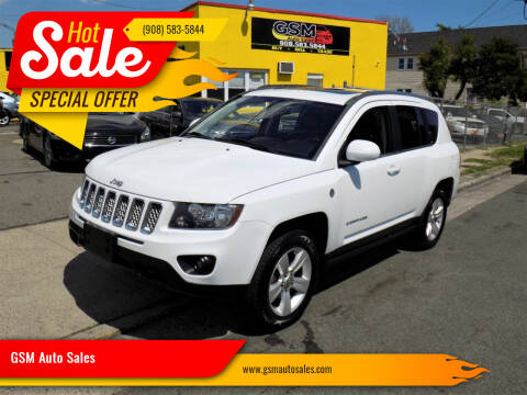 2014 Jeep Compass for sale at GSM Auto Sales in Linden NJ