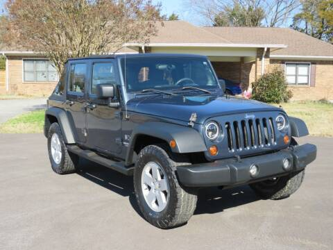 2008 Jeep Wrangler Unlimited for sale at Sevierville Autobrokers LLC in Sevierville TN