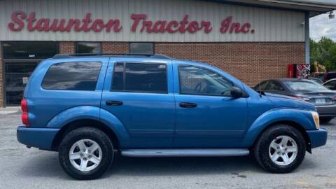 2004 Dodge Durango for sale at STAUNTON TRACTOR INC in Staunton VA