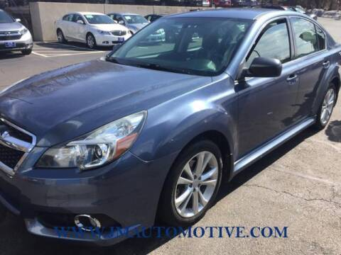 2014 Subaru Legacy for sale at J & M Automotive in Naugatuck CT