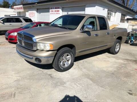 2002 Dodge Ram Pickup 1500 for sale at Harley's Auto Sales in North Augusta SC