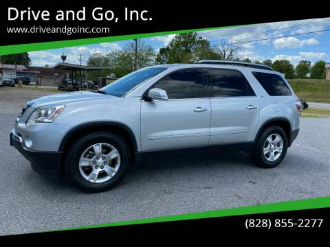 2009 GMC Acadia for sale at Drive and Go, Inc. in Hickory NC