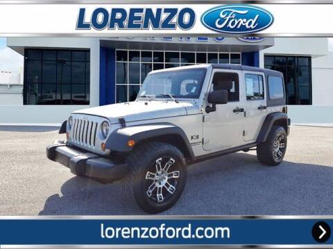 2007 Jeep Wrangler Unlimited for sale at Lorenzo Ford in Homestead FL