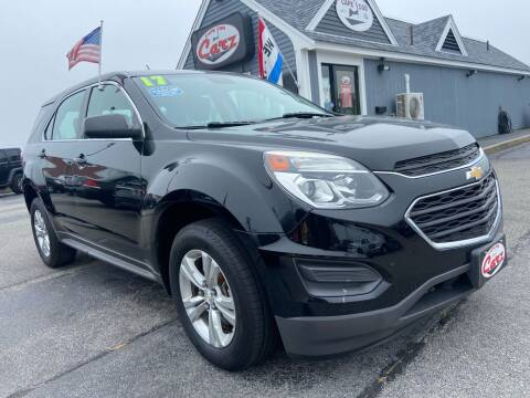 2017 Chevrolet Equinox for sale at Cape Cod Carz in Hyannis MA