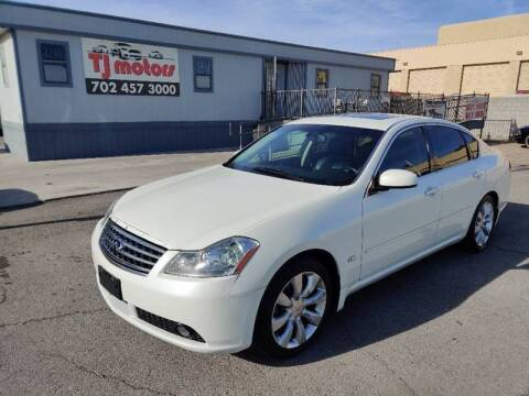 2006 Infiniti M35 for sale at TJ Motors in Las Vegas NV