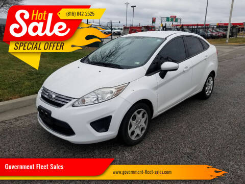 2012 Ford Fiesta for sale at Government Fleet Sales in Kansas City MO