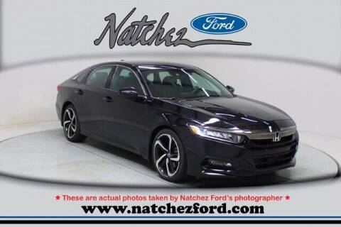 2018 Honda Accord for sale at Auto Group South - Natchez Ford Lincoln in Natchez MS