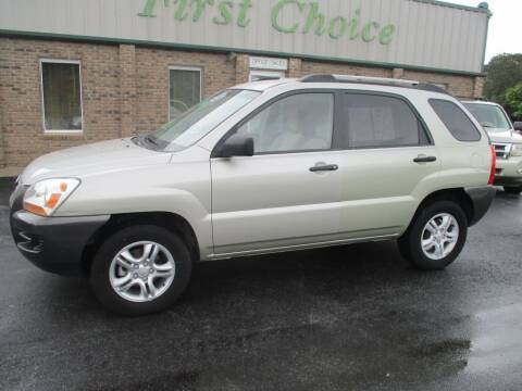 2007 Kia Sportage for sale at First Choice Auto in Greenville SC