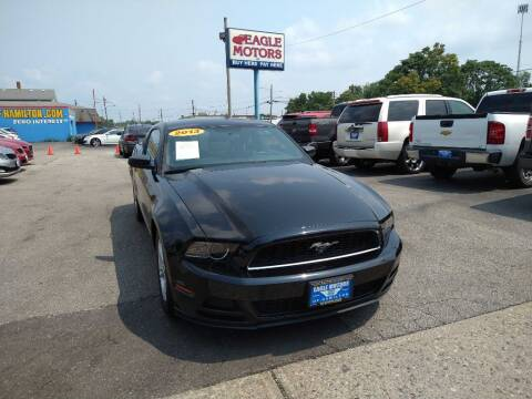 2013 Ford Mustang for sale at Eagle Motors in Hamilton OH