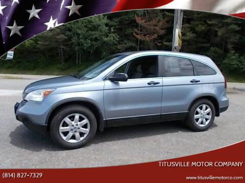 2008 Honda CR-V for sale at Titusville Motor Company in Titusville PA
