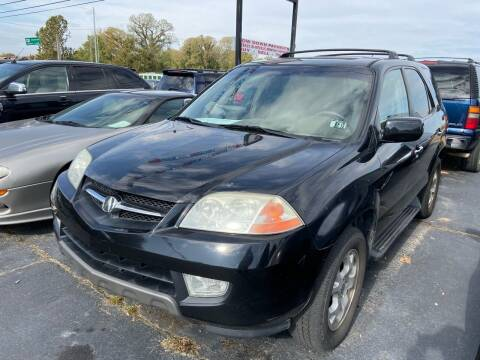 2002 Acura MDX for sale at Sartins Auto Sales in Dyersburg TN