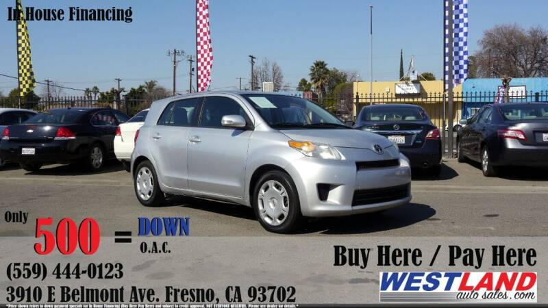 2012 Scion xD for sale at Westland Auto Sales in Fresno CA