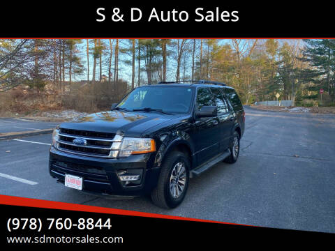 2015 Ford Expedition for sale at S & D Auto Sales in Maynard MA