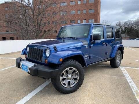 2010 Jeep Wrangler Unlimited for sale at Crown Auto Group in Falls Church VA