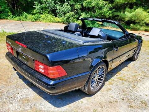 2000 Mercedes-Benz SL-Class for sale at The Car Store in Milford MA