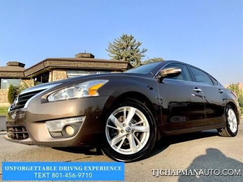 2013 Nissan Altima for sale at TJ Chapman Auto in Salt Lake City UT