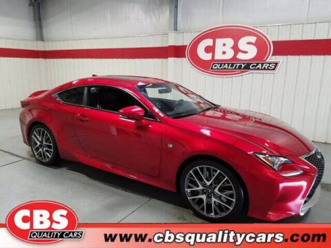 2017 Lexus RC 350 for sale at CBS Quality Cars in Durham NC