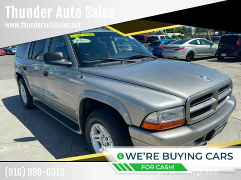 2001 Dodge Durango for sale at Thunder Auto Sales in Sacramento CA