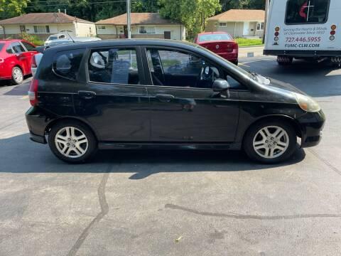 2007 Honda Fit for sale at CHRIS AUTO SALES in Cincinnati OH