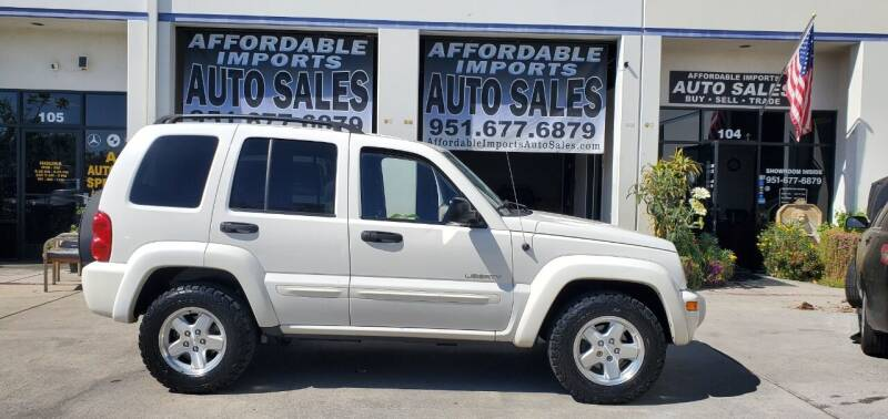 2004 Jeep Liberty for sale at Affordable Imports Auto Sales in Murrieta CA