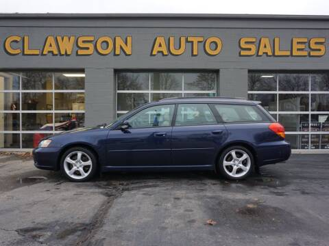 2005 Subaru Legacy for sale at Clawson Auto Sales in Clawson MI