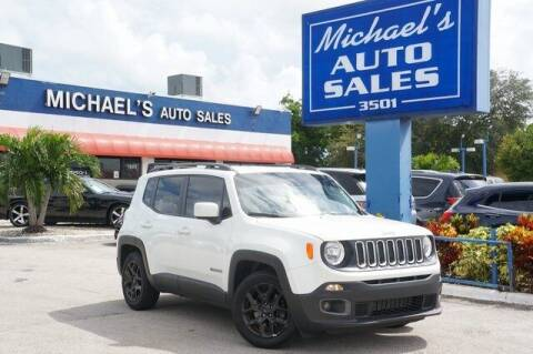 2017 Jeep Renegade for sale at Michael's Auto Sales Corp in Hollywood FL
