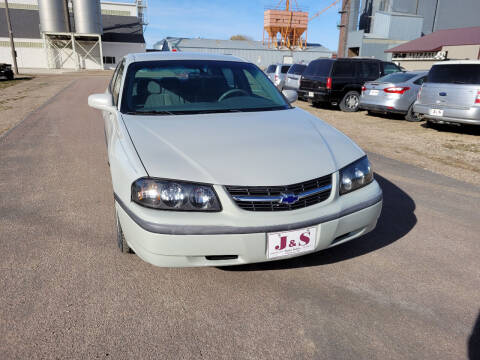 2003 Chevrolet Impala for sale at J & S Auto Sales in Thompson ND