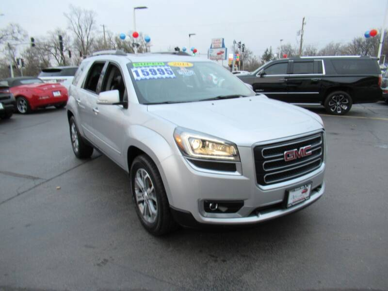 2014 GMC Acadia for sale at Auto Land Inc in Crest Hill IL