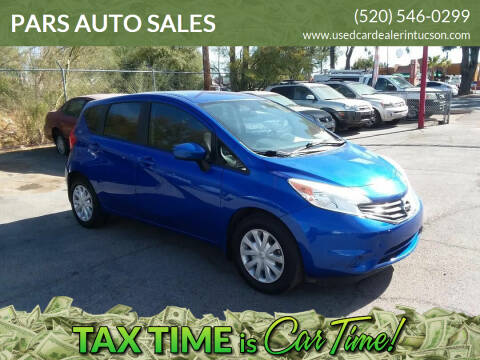2015 Nissan Versa Note for sale at PARS AUTO SALES in Tucson AZ