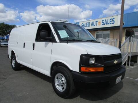 2015 Chevrolet Express Cargo for sale at Salem Auto Sales in Sacramento CA