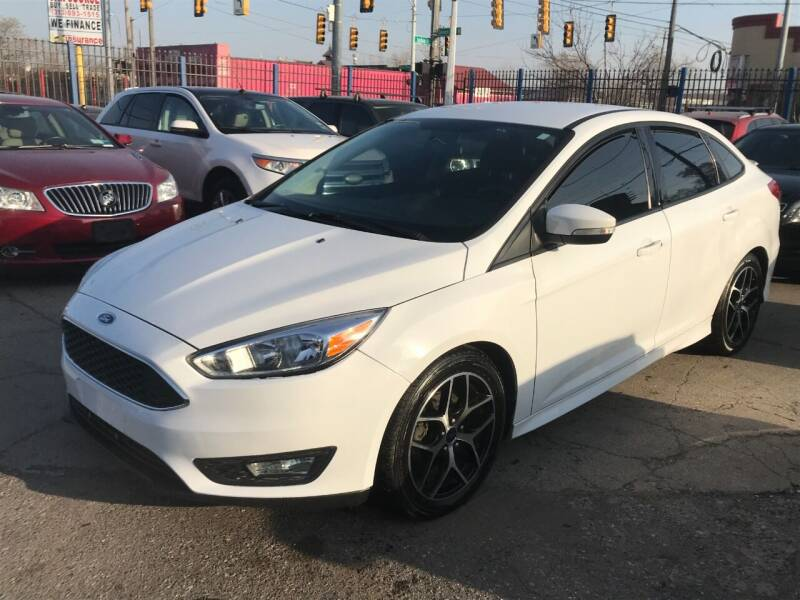 2015 Ford Focus for sale at SKYLINE AUTO in Detroit MI