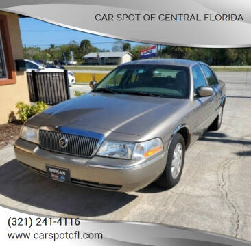 2004 Mercury Grand Marquis for sale at Car Spot Of Central Florida in Melbourne FL